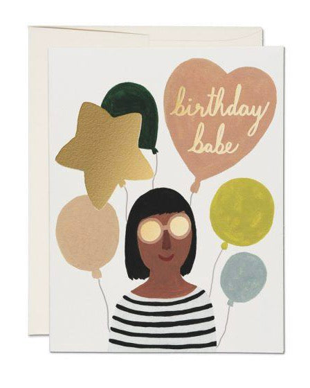 Red Cap Cards - Birthday Babe