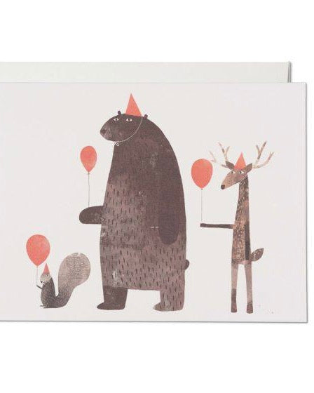 Red Cap Cards - Party Animals