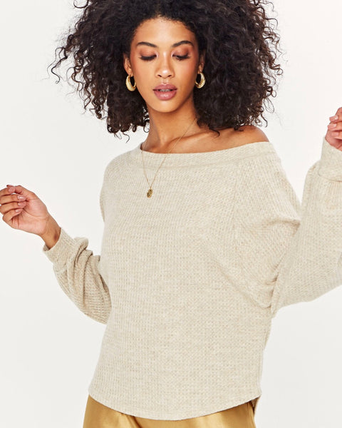 One Way Cozy Off Shoulder