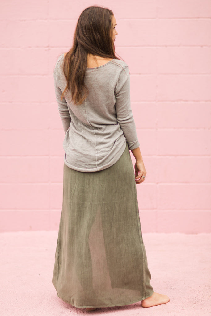 Honey Maxi Skirt