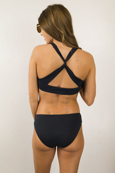 Sol Searcher Twist Back Swim Set