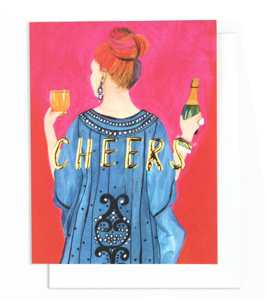 Thimblepress - Tiffany Cheers! Single Card