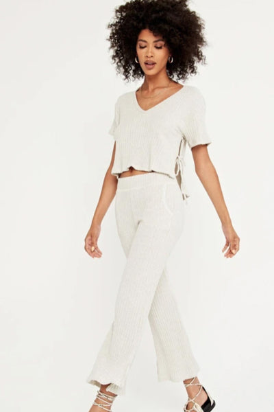 Time Moves Cropped Pant