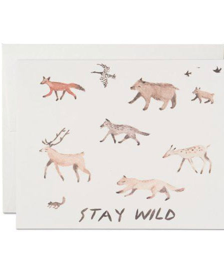 Red Cap Cards - Stay Wild