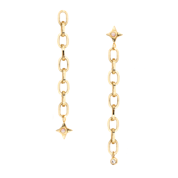 Mod + Jo - Bianca Chain Earrings