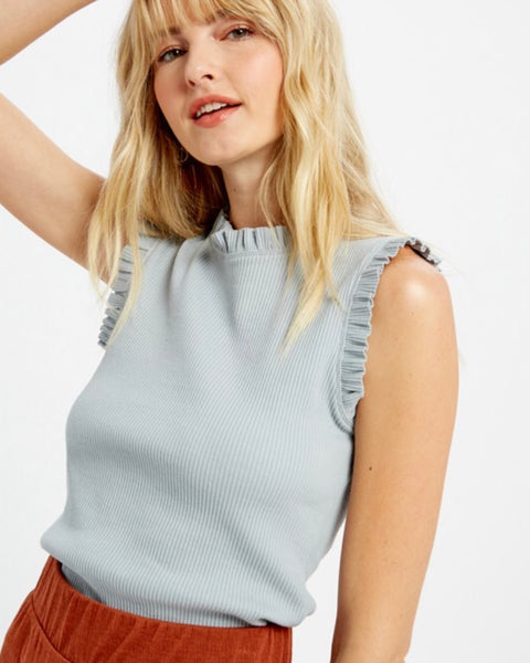 Ruffled Edge Tank