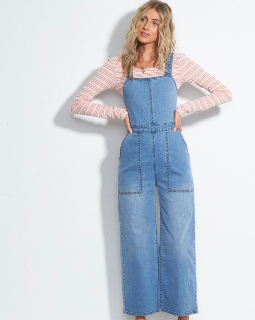 Ball In Denim Jumpsuit