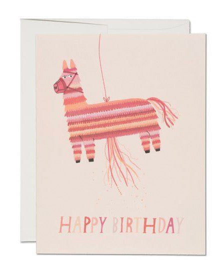 Red Cap Cards - Donkey Piñata