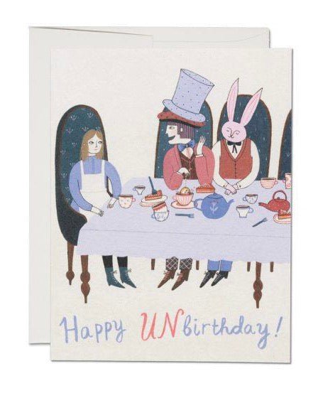Red Cap Cards - Happy Unbirthday