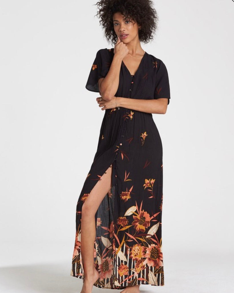 Autumn Breeze Maxi Dress