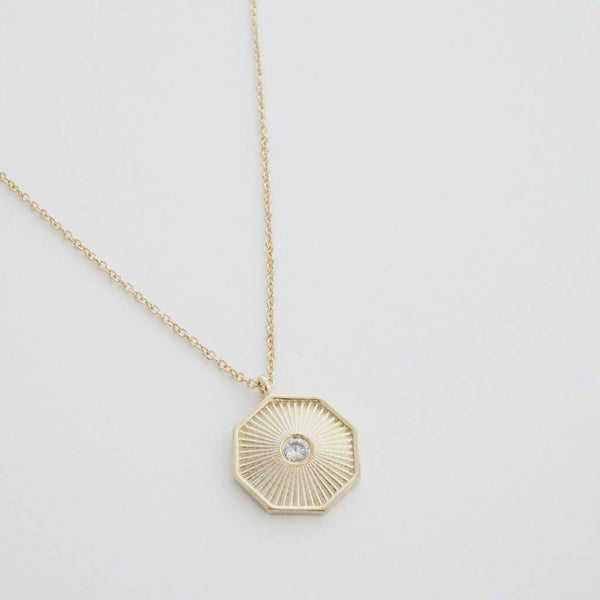 Honeycat Jewelry - Sunbeam Pendant Necklace