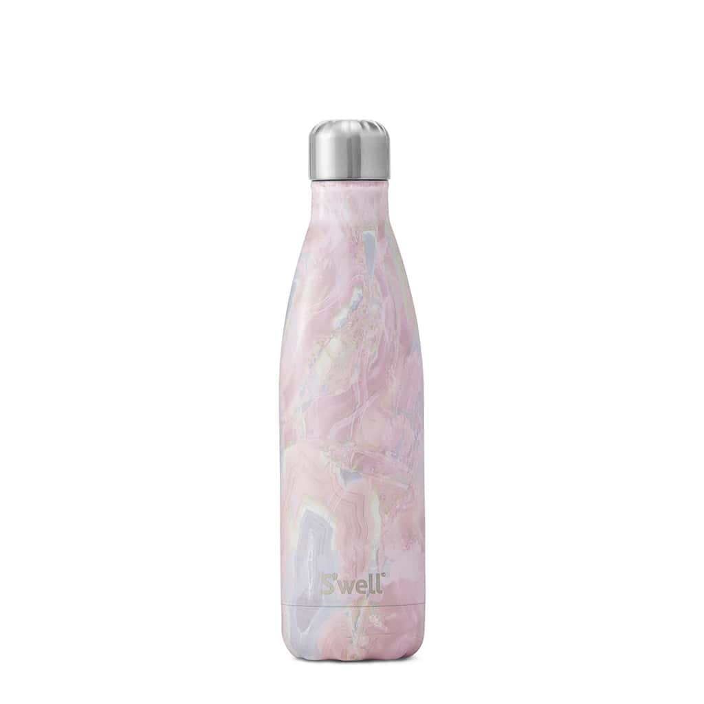 S'well - Stainless Steel Water Bottle - Geode Rose 25oz