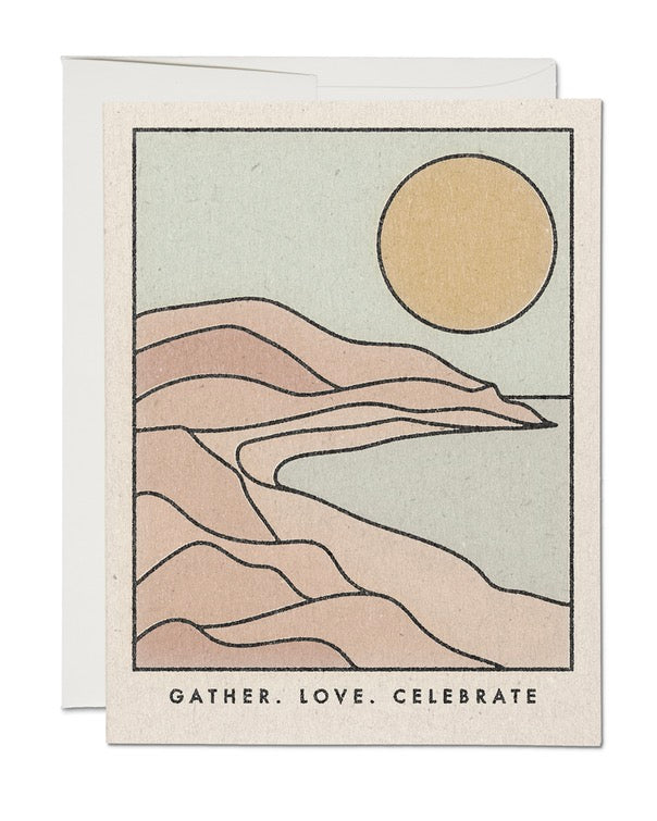 Red Cap Cards - Gather Coastline