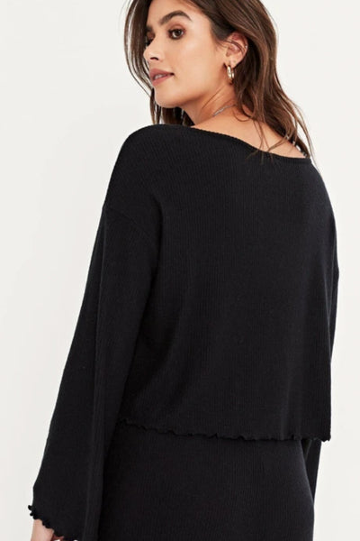Ride Cozy Rib Top