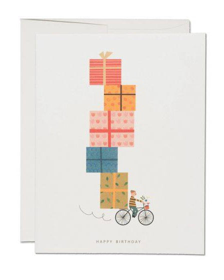 Red Cap Cards - Birthday Bike