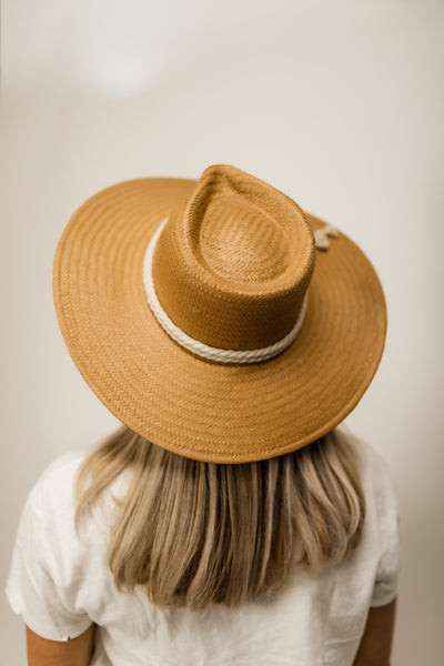Pretty Twisted Straw Hat
