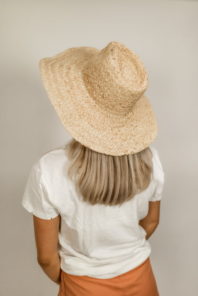 Sea Mist Thick Straw Hat