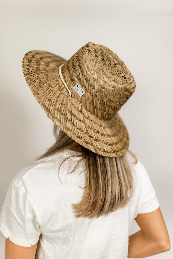 New Comer Straw Hat With Strap