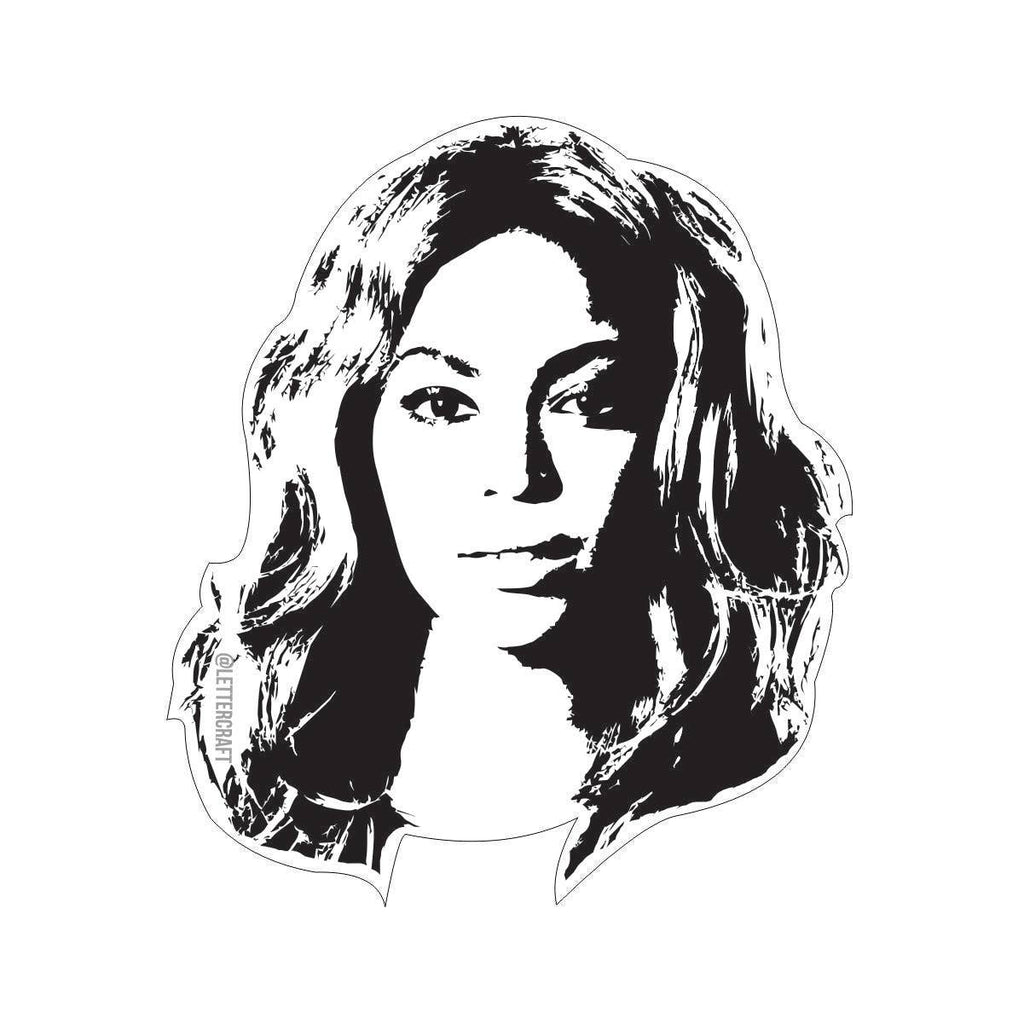 LetterCraft - Beyonce Sticker