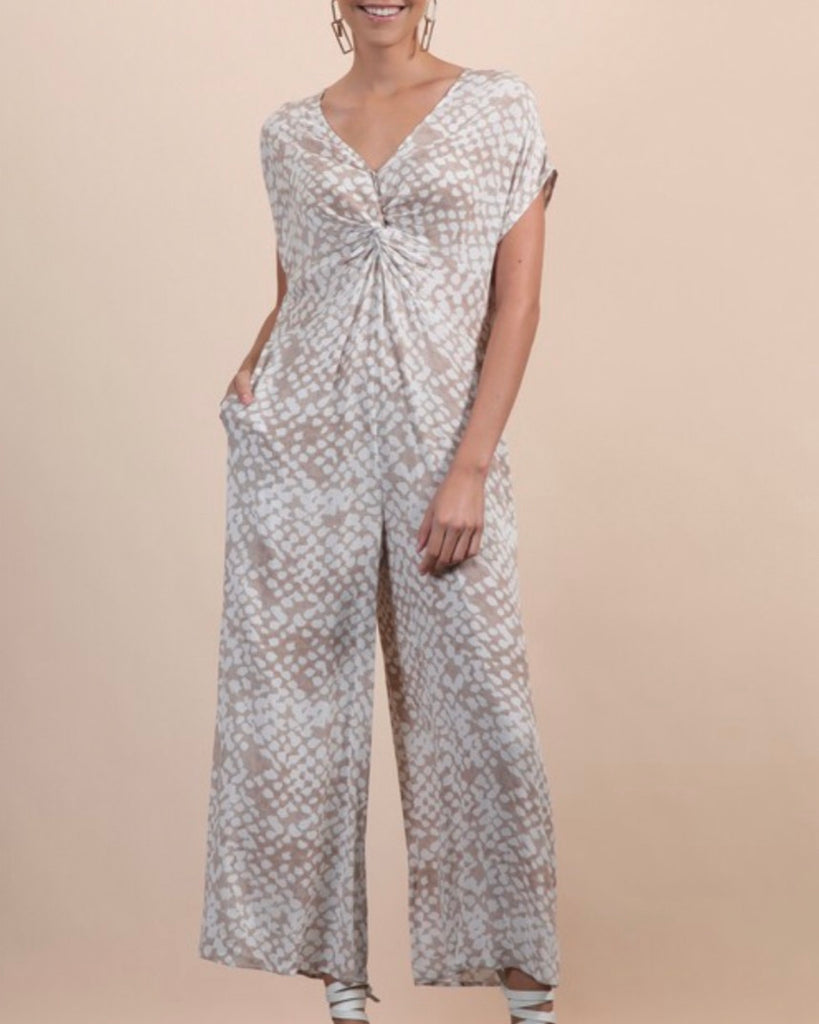 Twisted Waist Jumpsuit