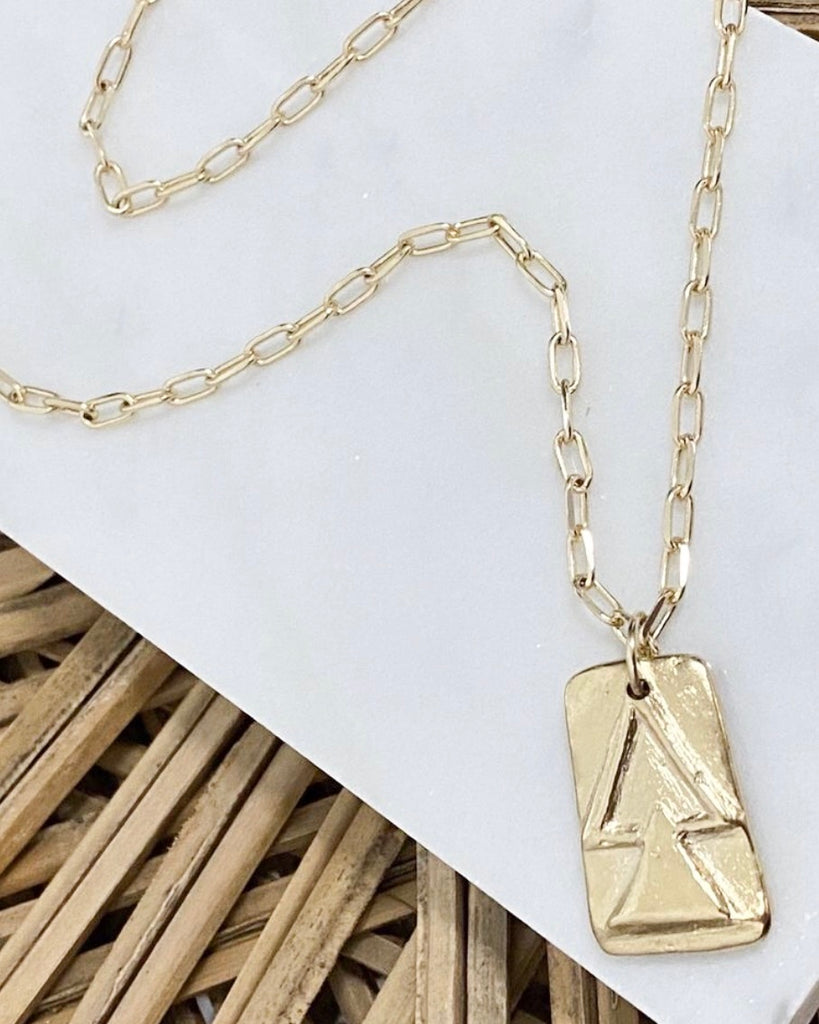 Balance 14K Plated Necklace