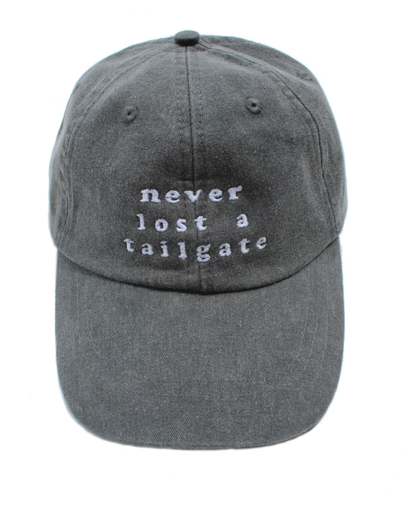 Never Lost A Tailgate Baseball Cap