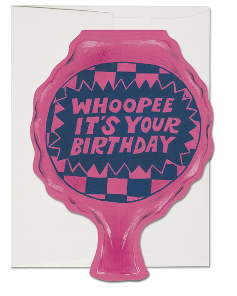 Red Cap Cards - Whoopee Cushion
