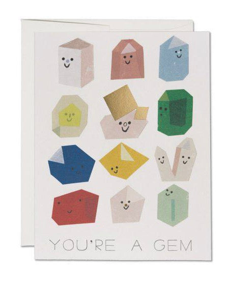 Red Cap Cards - Gem Buddies