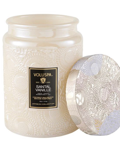 Voluspa Large Glass Jar (Curbside or Store Pick up only)