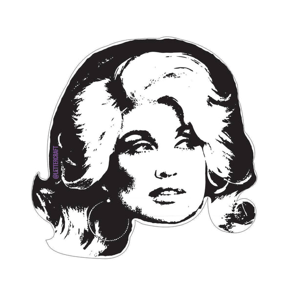 LetterCraft - Dolly Parton Sticker
