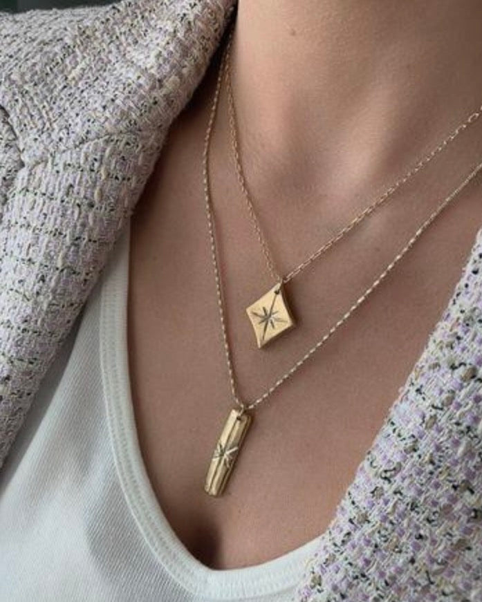Flicker 14K Plated Necklace