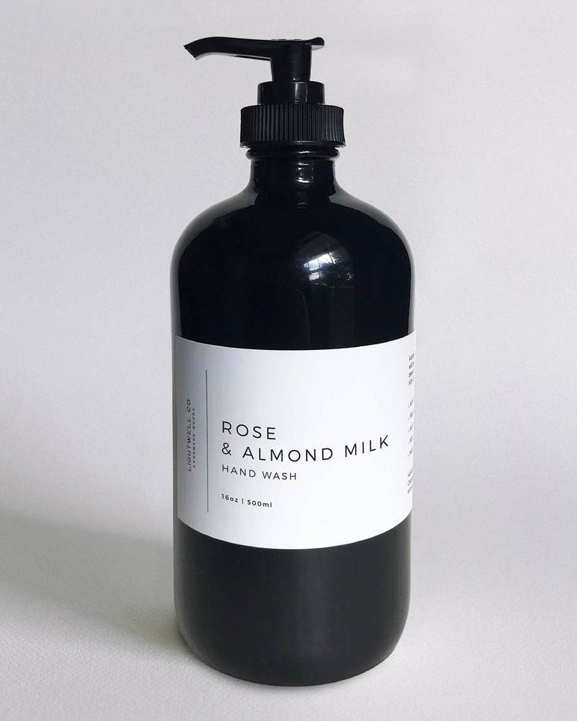 Rose & Almond Milk Hand Wash (Curbside or Store Pick up only)