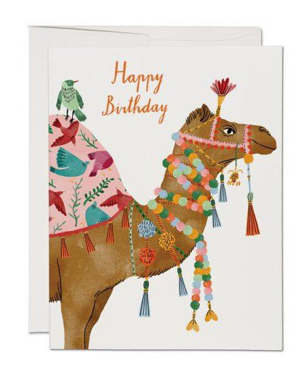 Red Cap Cards - Camel