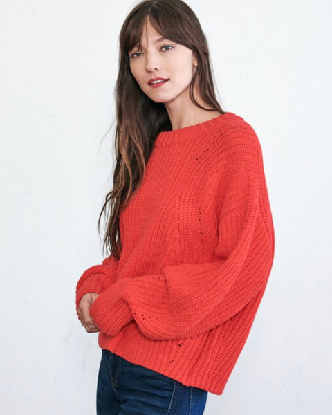 Poppy Knit Sweater