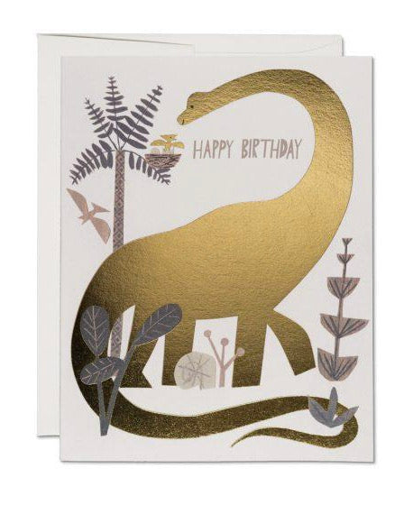Red Cap Cards - Dinosaur Birthday