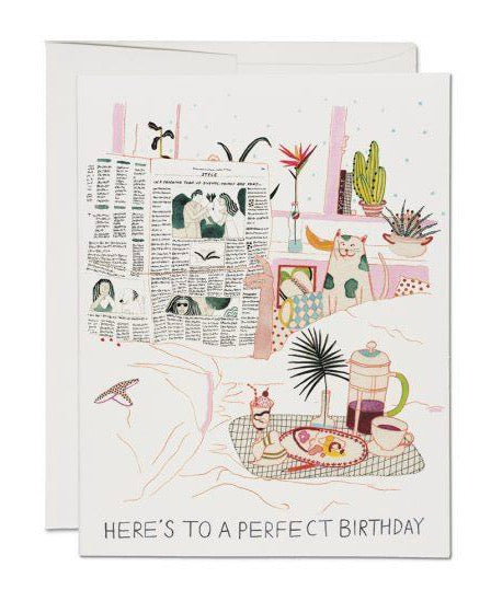 Red Cap Cards - Birthday Perfection