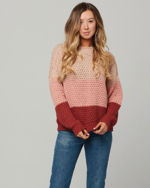 Zella Open Knit Sweater