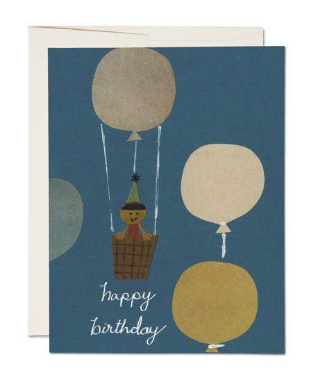 Red Cap Cards - Hot Air Balloon