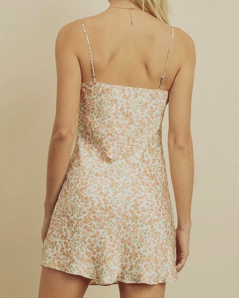 Bella Blossom Slip Dress