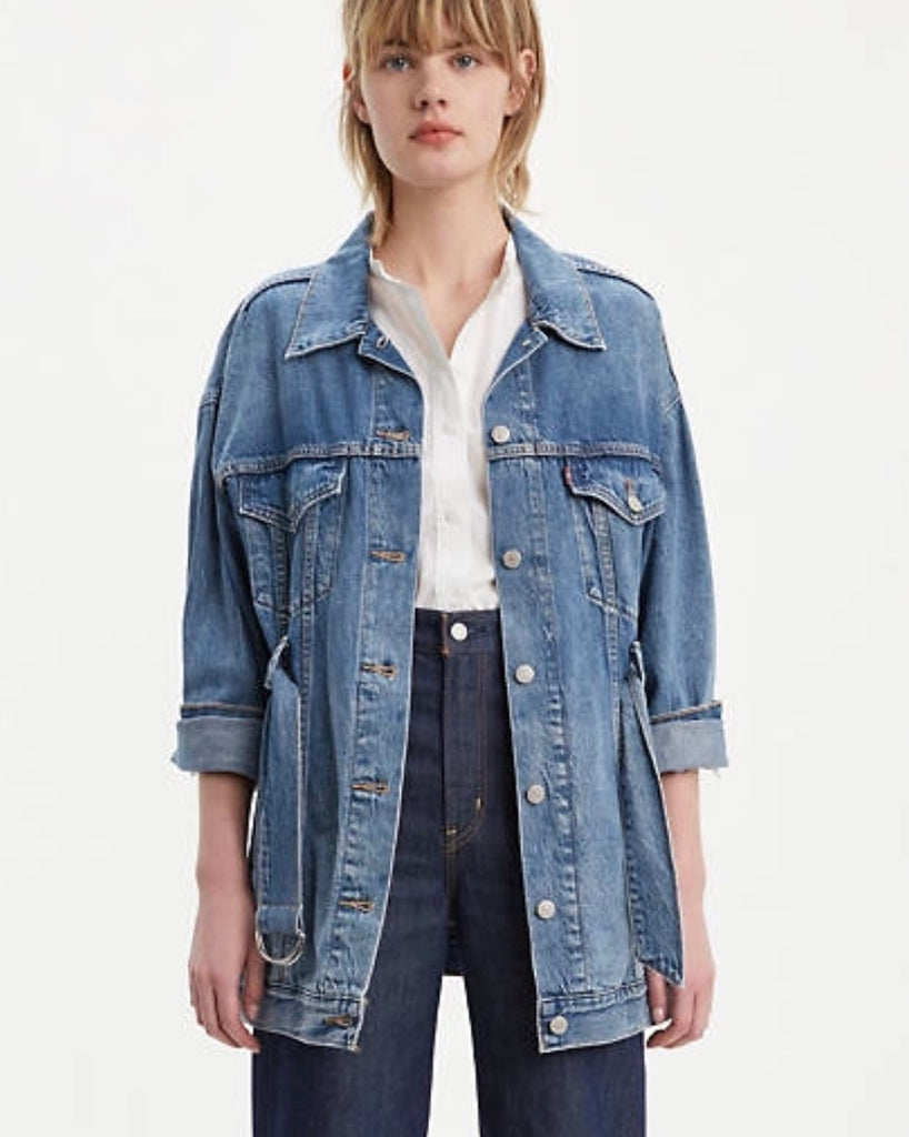 Levis Belted Trucker Jacket