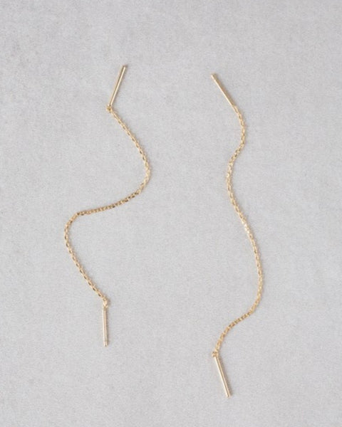 Mini Needle Drop Earring