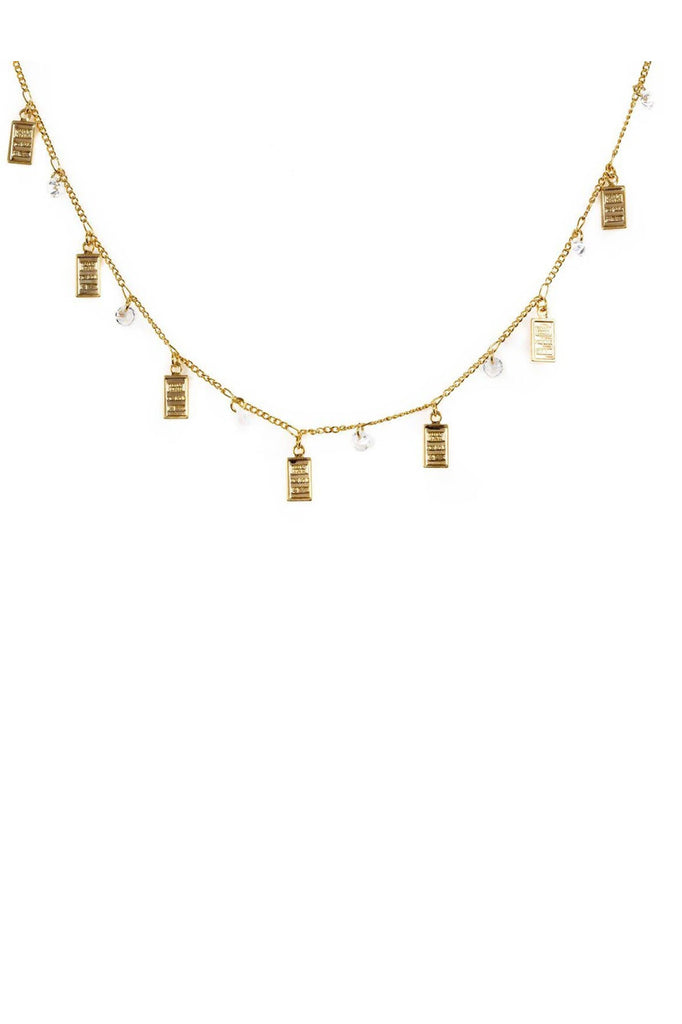 Bracha Mini Bars Necklace