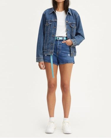 Levis Ribcage Short - Charleston Chill