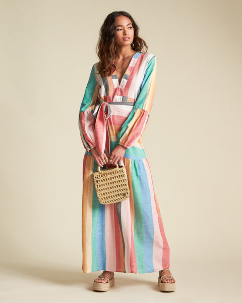 Mix It Up Maxi Dress