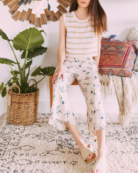 Blossom Bloom Crop Pant