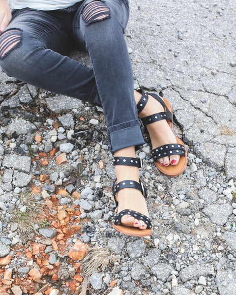 Prim Leather Sandal