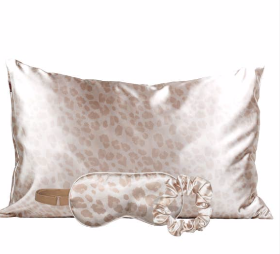 KITSCH - Satin Sleep Set - Leopard