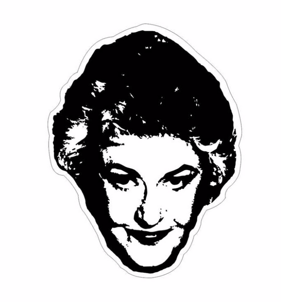 Golden Girls Bea Arthur Sticker