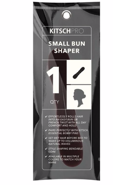 KITSCH - Large Black Bun Shaper
