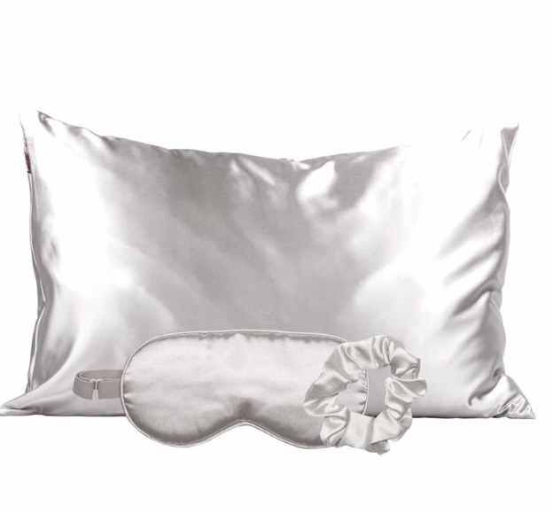 KITSCH - Satin Sleep Set - Silver